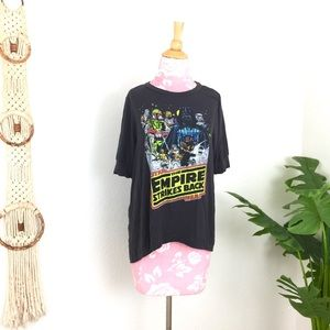Empire Strikes Back Star Trek Soft Tee Shirt